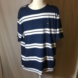 Tommy Hilfiger Short Sleeve Striped Polo